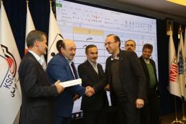 تقدیر از تامین کنندگان برتر شرکت ذوبآهن اصفهان در دومین جشنواره ملی فولاد ایران