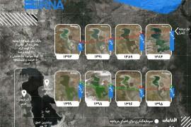 حال و روز دریاچه ارومیه؛ هر روز بهتر از دیروز