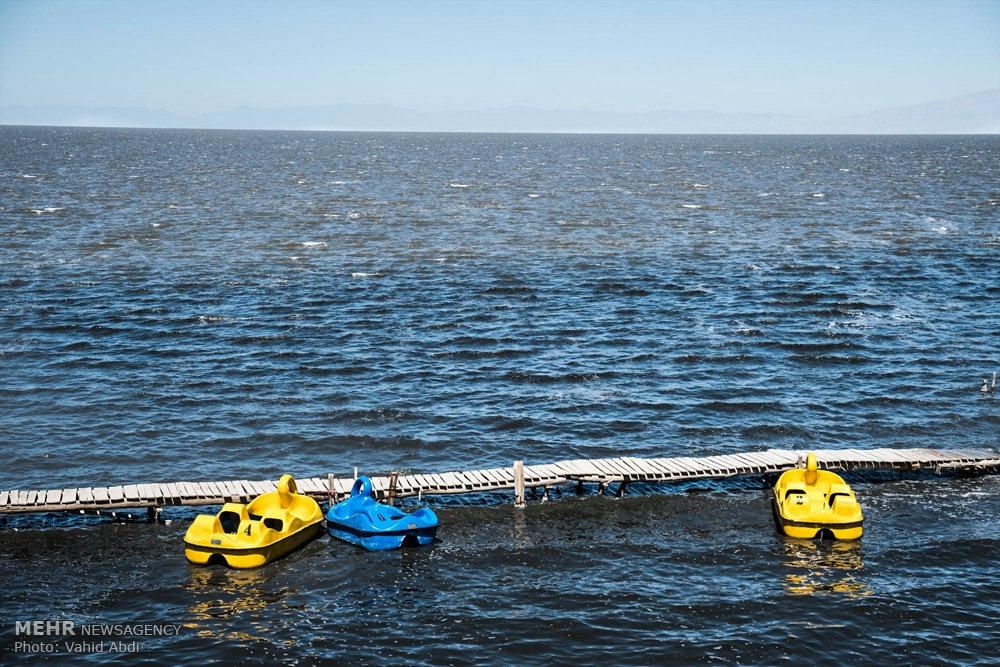 Photo of حال خوش دریاچه ارومیه در روزهای کرونایی