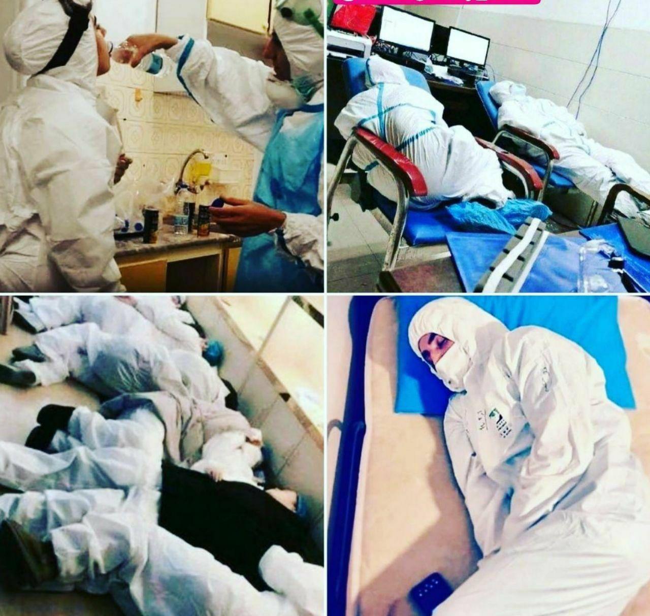 Photo of تعظیم ایران به رشادت پرستاران و پزشکان در مقابله با کرونا/داستان خدمتی که باید با طلا آنرا نوشت
