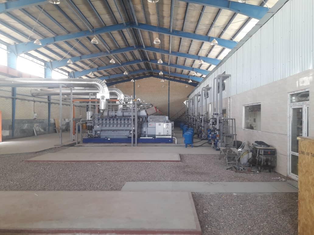 تصویر دهمین نیروگاه مقیاس کوچک تحت پوشش برق منطقه ای اصفهان به بهره برداری رسید