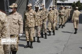 مشمولان پایه خدمتی خرداد ماه به سربازی فراخوانده شدند