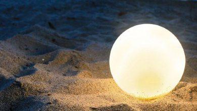 تصویر لامپ سبک، ضدآب و جمع شدنی از راه رسید!