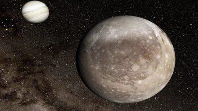 تصویر کشف بزرگترین دهانه ناشی از برخورد اجسام آسمانی در منظومه شمسی