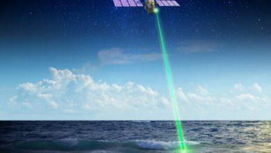 تصویر ناسا با لیزر به فضا اطلاعات می فرستد