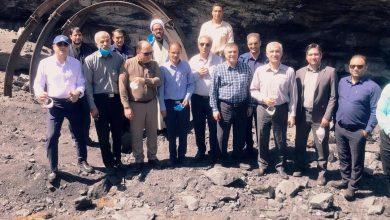 تصویر در پی بازدید مسئولین ذوب آهن اصفهان از شرکت زغال سنگ کرمان مطرح شد