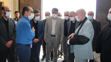 تصویر بازدید استاندار اصفهان از پروژه جدید زندان کاشان