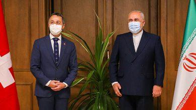 تصویر تعهد سوئیس درباره برجام و گسترش روابط در همه ابعاد با ایران