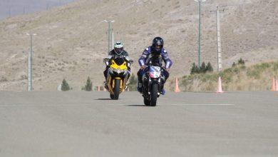 تصویر دومین دوره مسابقات سرعت موتورسواری آزاد در تبریز برگزار شد