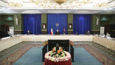 تصویر دکتر روحانی در جلسه ستاد هماهنگی اقتصادی دولت: