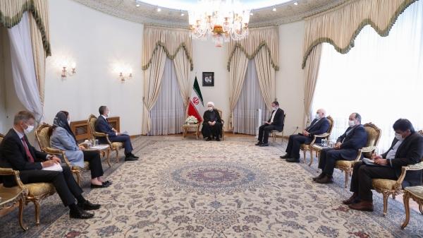 دکتر روحانی در دیدار وزیر خارجه سوئیس