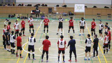 تصویر شکست تیم ملی فوتسال ژاپن در دیدار تدارکاتی