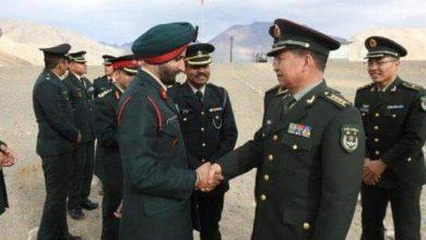 تصویر هند و چین برای کاهش تنش مرزی توافق کردند