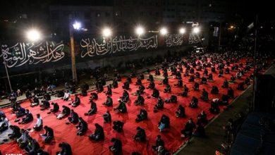 تصویر حرکت دستههای عزاداری اربعین در تهران ممنوع است