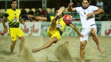 تصویر برنامه مسابقات مرحله دوم لیگ برتر فوتبال ساحلی اعلام شد