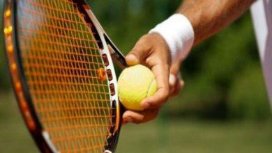 تصویر جام حذفی تنیس مردان به مرحله نیمه نهایی رسید