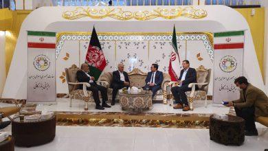 تصویر شهردار اصفهان در ملاقات با وزیر امور خارجه افغانستان:
