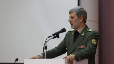 تصویر وزیر دفاع: نهضت قطعه سازی در نیروهای مسلح نمود عینی دارد