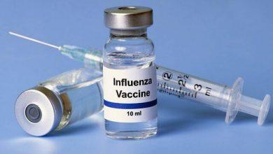 تصویر واکسن آنفولانزا از هلند وارد شده است