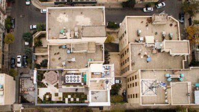تصویر پدیده «خانههای هوایی» در مناطق دو تا هفت مشهد