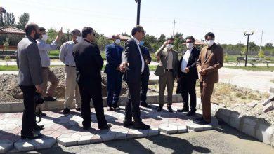 تصویر احداث بازارچه صنایعدستی در پارک ولایت شهرستان اهر
