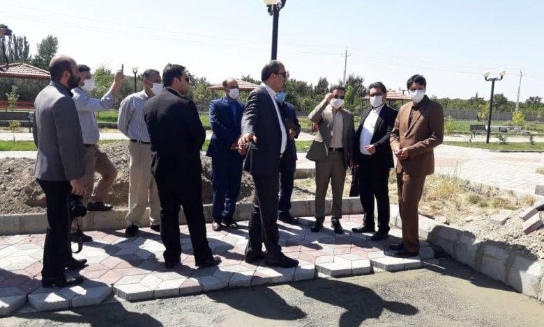 احداث بازارچه صنایعدستی در پارک ولایت شهرستان اهر