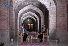 تصویر تهیه برنامه تلویزیونی فیروزه در محوطه تاریخی فیروزه جهان اسلام