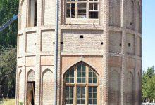 تصویر یک گام تا اتمام مرمت برج خلعت پوشان تبریز
