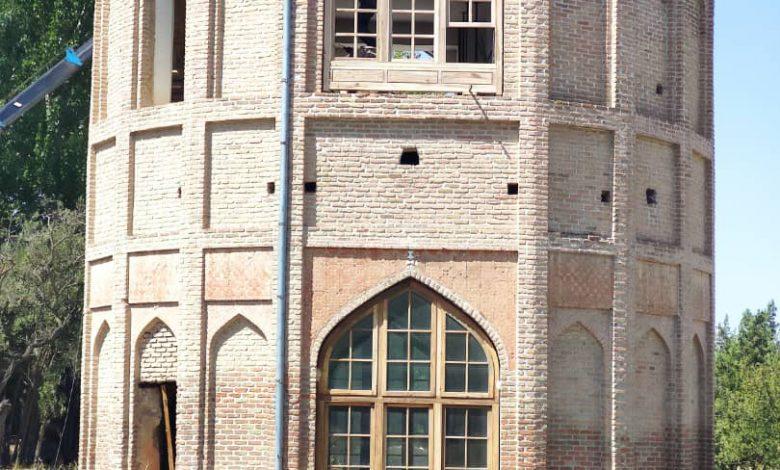 یک گام تا اتمام مرمت برج خلعت پوشان تبریز