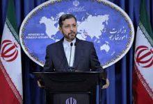 تصویر سخنگوی وزارت خارجه: