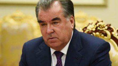 تصویر «امامعلی رحمان» باز هم رئیسجمهور تاجیکستان شد