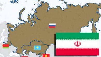تصویر رشد ۶ درصدی صادرات ایران به اتحادیه اوراسیا