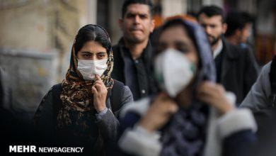 تصویر هوای تهران در یک قدمی آلودگی