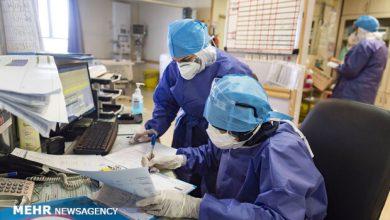 تصویر ۱۷ درصد از کادر درمان استان تهران کرونا گرفتهاند