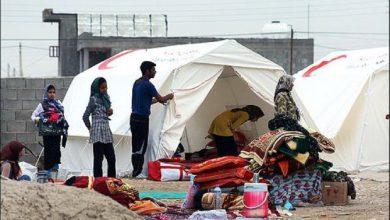 تصویر پرداخت بخشی از کمکهای بین المللی به آسیبدیدگان زلزله کرمانشاه