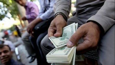 تصویر تعلیق سنگین در بازار ارز / دلالان نگران از آوار شکست نرخها