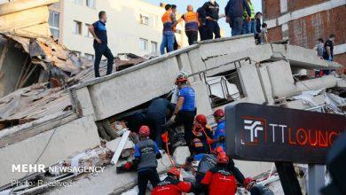 تصویر وقوع پس لرزه ۵ ریشتری در مناطق زلزله زده ترکیه