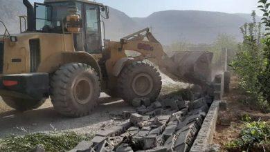 تصویر هشدار درباره ساخت و سازهای غیرمجاز در حریم رودخانهها