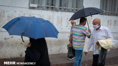 تصویر ورود یک سامانه بارشی از جنوب غرب کشور