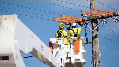 تصویر ۳۵ کیلومتر شبکه فشار ضعیف و متوسط برق اصفهان بازسازی میشود