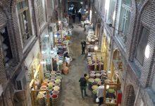 تصویر اتمام کف سازی «قانلی دالان» بازار جهانی تبریز