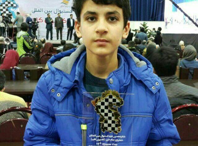 شطرنج باز تبریزی نایب قهرمان جهان شد