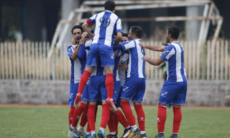تیم فوتبال مراغه در لیگ دسته سوم کشور حضور یافت