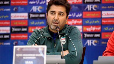 تصویر واکنش سرمربی ایران به احتمال لغو جام ملتها و جام جهانی فوتسال