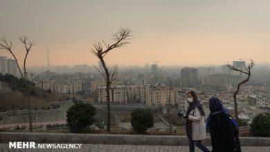 تصویر هوای تبریز در وضعیت «قابل قبول» قرار گرفت
