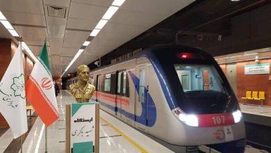 تصویر چهار ایستگاه مترو تبریز به دستور رئیس جمهور افتتاح شد