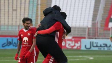 تصویر پیروزی لحظه آخری تراکتور در داربی تبریز