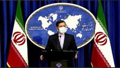 تصویر پیام ایران به آمریکا و همسایگان/دعوت اروپا به اجرای موثر تعهدات/خون شهید سلیمانی پایمال نمیشود