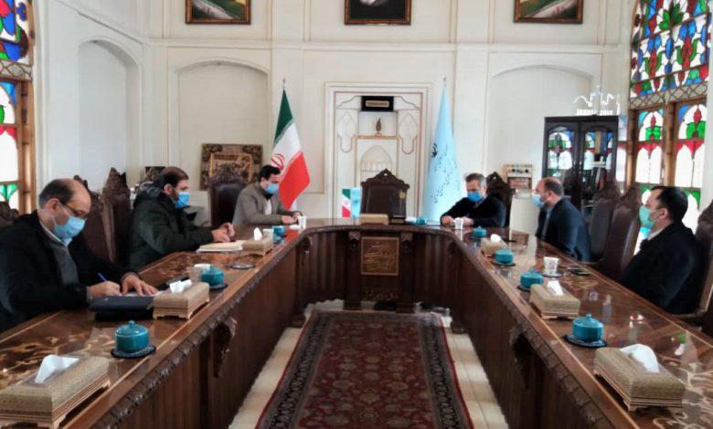 اجرای برنامه راهبردی مشترک ساماندهی و جدارهسازی حیدر تکیهسی تبریز