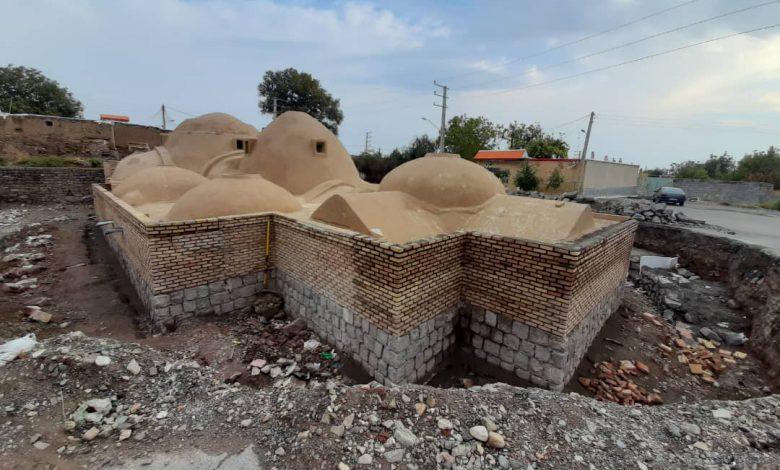 اتمام مرمت و بازسازی حمام تاریخی تسوج منوط به اجرای تعهدات شهرداری